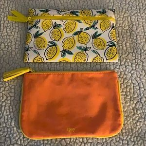 Ipsy Pouch 2 Pack 🍋